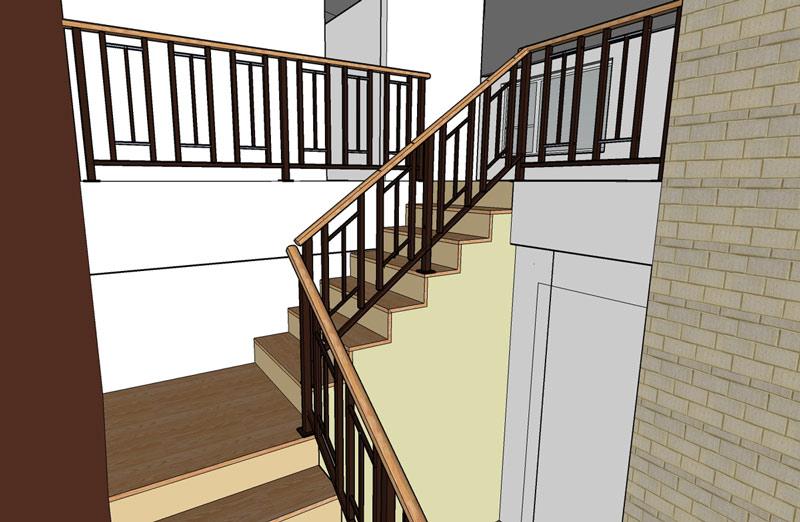 Lighting Basement Washroom Stairs: Joy Studio Design Gallery - Best Design