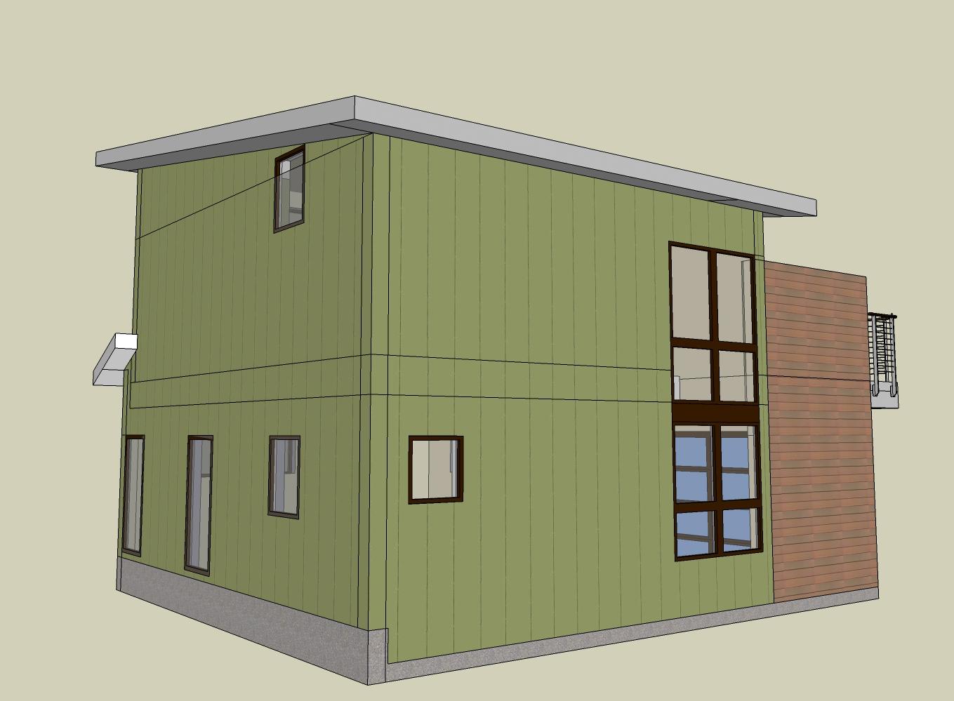modern seattle backyard cottage dadu